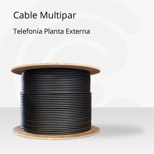 Cable multipar de telefon a planta externa cablecenter for Pianta esterna