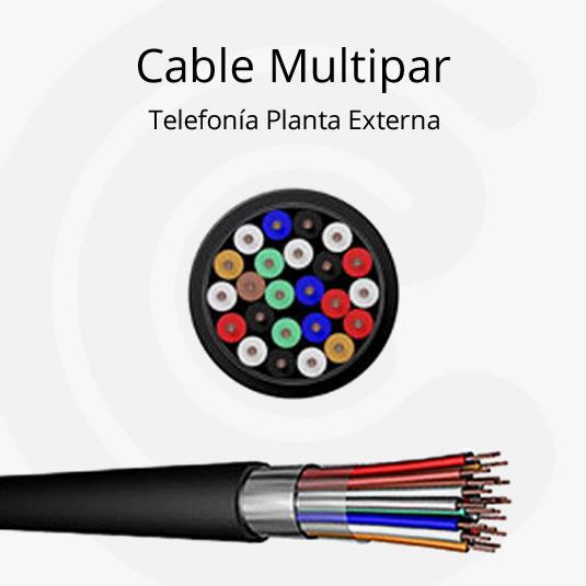 Cable multipar de telefon a planta externa for Pianta esterna