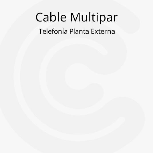 Cable Multipar de Telefonía Planta Externa
